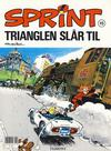 Cover for Sprint (Hjemmet / Egmont, 1998 series) #15 - Trianglen slår til