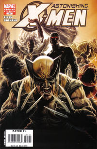Cover Thumbnail for Astonishing X-Men (Marvel, 2004 series) #25 [Variant Cover by Lee Bermejo]