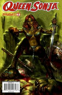 Cover Thumbnail for Queen Sonja (Dynamite Entertainment, 2009 series) #1 [Lucio Parrillo Cover]