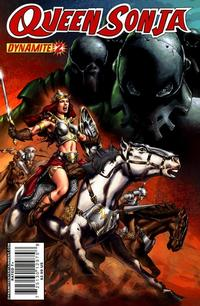 Cover Thumbnail for Queen Sonja (Dynamite Entertainment, 2009 series) #2 [Mel Rubi Cover]