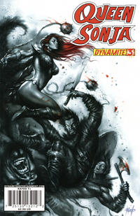 Cover Thumbnail for Queen Sonja (Dynamite Entertainment, 2009 series) #3 [Lucio Parrillo Cover]