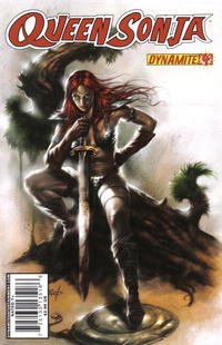 Cover Thumbnail for Queen Sonja (Dynamite Entertainment, 2009 series) #4 [Lucio Parrillo Cover]