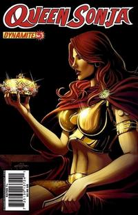 Cover Thumbnail for Queen Sonja (Dynamite Entertainment, 2009 series) #5 [Jackson Herbert Cover]