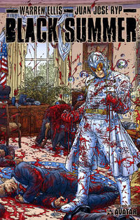 Cover Thumbnail for Black Summer (Avatar Press, 2007 series) #0 [Wraparound Cover]