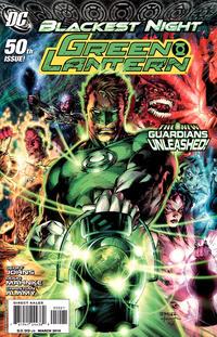 Cover Thumbnail for Green Lantern (DC, 2005 series) #50 [Jim Lee / Scott Williams Cover]