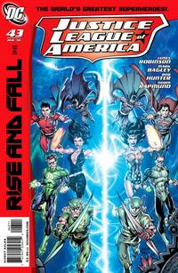 Cover Thumbnail for Justice League of America (DC, 2006 series) #43 [Standard Cover]