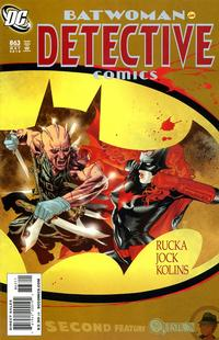 Cover Thumbnail for Detective Comics (DC, 1937 series) #863