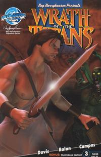 Cover Thumbnail for Wrath of the Titans (Bluewater / Storm / Stormfront / Tidalwave, 2007 series) #3 [Daniel Vest Cover]