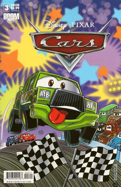 Cover for Cars (Boom! Studios, 2009 series) #3 [Cover A]
