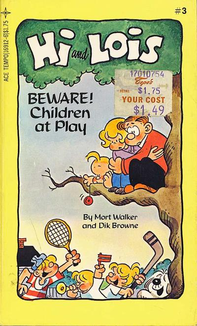 Cover for Hi and Lois #3 Beware! Children at Play (Tempo Books, 1984 series) #3 (16912)
