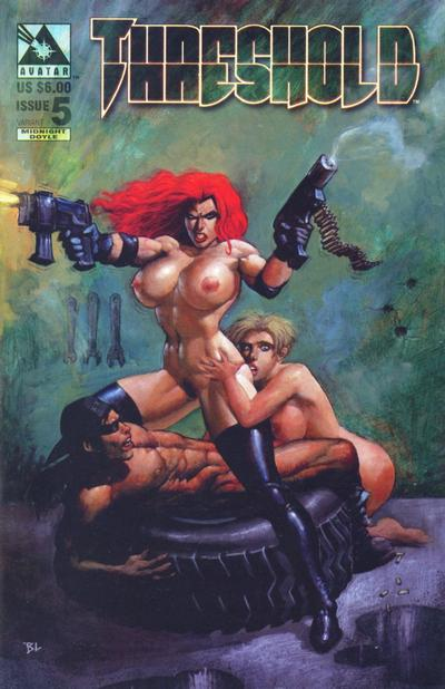 Cover for Threshold (Avatar Press, 1998 series) #5 [Midnight Doyle]