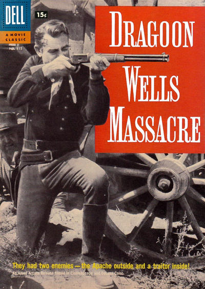 Cover for Four Color (Dell, 1942 series) #815 - Dragoon Wells Massacre
