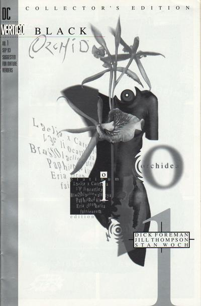 Cover for Black Orchid (DC, 1993 series) #1 [Standard Cover]