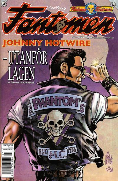 Cover for Fantomen (Egmont, 1997 series) #7/2010