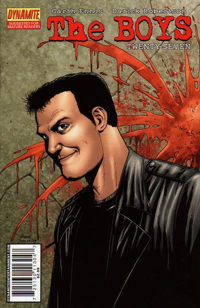 Cover for The Boys (Dynamite Entertainment, 2007 series) #27 [Cover A]