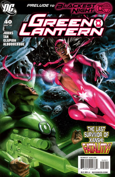 Cover for Green Lantern (DC, 2005 series) #40 [First Printing]
