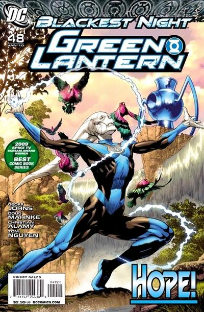 Cover for Green Lantern (DC, 2005 series) #48 [Standard Cover]