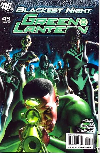 Cover for Green Lantern (DC, 2005 series) #49 [Standard Cover]