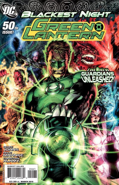 Cover for Green Lantern (DC, 2005 series) #50 [Jim Lee Variant Cover]