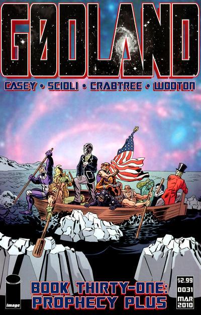 Cover for Godland (Image, 2005 series) #31