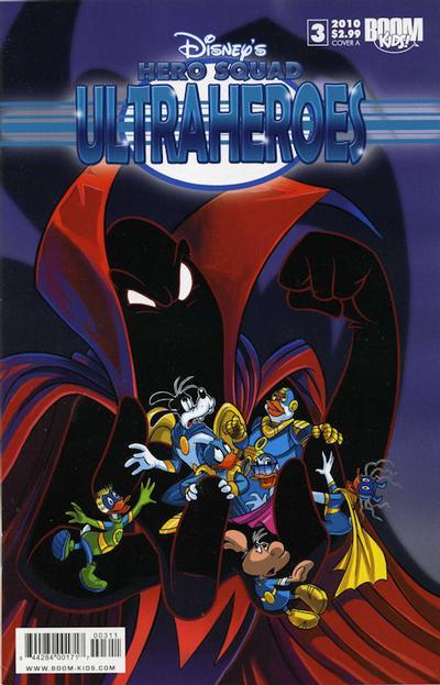 Cover for Disney's Hero Squad (Boom! Studios, 2010 series) #3 [Cover A]