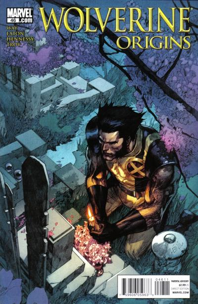 Cover for Wolverine: Origins (Marvel, 2006 series) #46