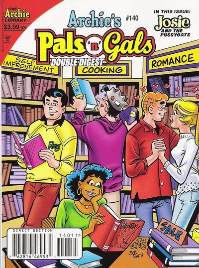 Cover for Archie's Pals 'n' Gals Double Digest Magazine (Archie, 1992 series) #140