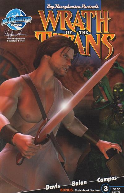 Cover for Wrath of the Titans (Bluewater / Storm / Stormfront / Tidalwave, 2007 series) #3 [Unknown Variant]