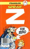 Cover for Sprint [Semic Tegneseriepocket] (Semic, 1990 series) #1 - Z for Zero