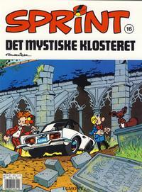 Cover Thumbnail for Sprint (Hjemmet / Egmont, 1998 series) #16 - Det mystiske klosteret