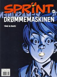 Cover Thumbnail for Sprint (Hjemmet / Egmont, 1998 series) #47 - Drømmemaskinen