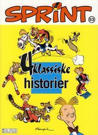 Cover Thumbnail for Sprint (Hjemmet / Egmont, 1998 series) #53 - 4 klassiske historier