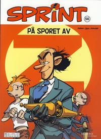 Cover Thumbnail for Sprint (Hjemmet / Egmont, 1998 series) #56 - På sporet av Z