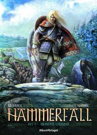 Cover Thumbnail for Hammerfall (Albumförlaget Jonas Anderson, 2010 series) #1 - Ormens lidande