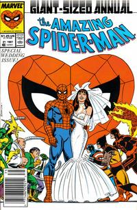 Cover Thumbnail for The Amazing Spider-Man Annual (Marvel, 1964 series) #21 [Newsstand]
