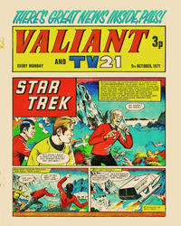 Cover Thumbnail for Valiant and TV21 (IPC, 1971 series) #9th October 1971