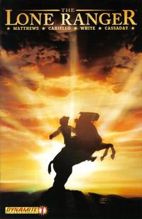 Cover Thumbnail for The Lone Ranger (Dynamite Entertainment, 2006 series) #1 [Second Printing]