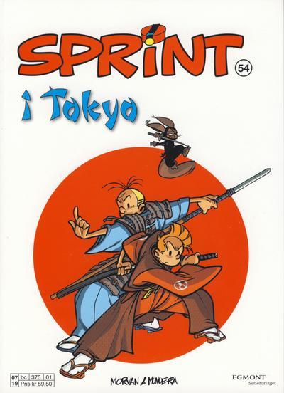 Cover for Sprint (Hjemmet / Egmont, 1998 series) #54 - Sprint i Tokyo