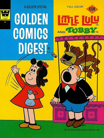Cover for Golden Comics Digest (Western, 1969 series) #33