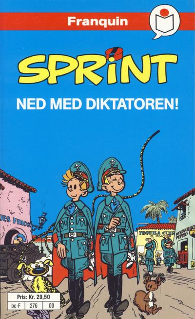 Cover for Sprint [Semic Tegneseriepocket] (Semic, 1990 series) #3 - Ned med diktatoren!