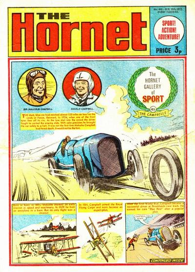 Cover for The Hornet (D.C. Thomson, 1963 series) #441