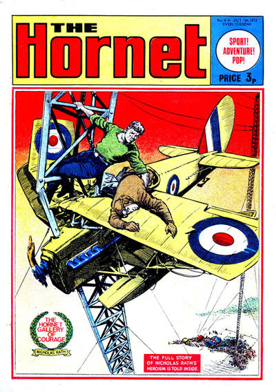 Cover for The Hornet (D.C. Thomson, 1963 series) #474