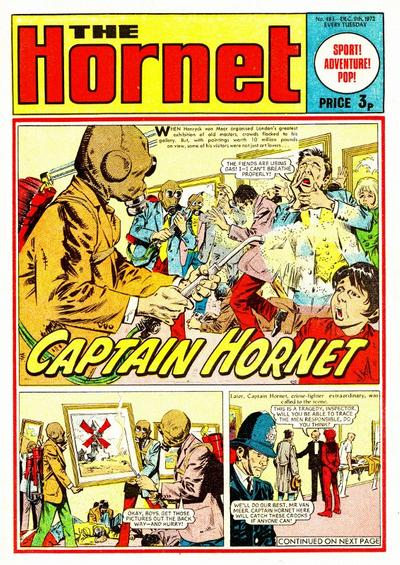 Cover for The Hornet (D.C. Thomson, 1963 series) #483