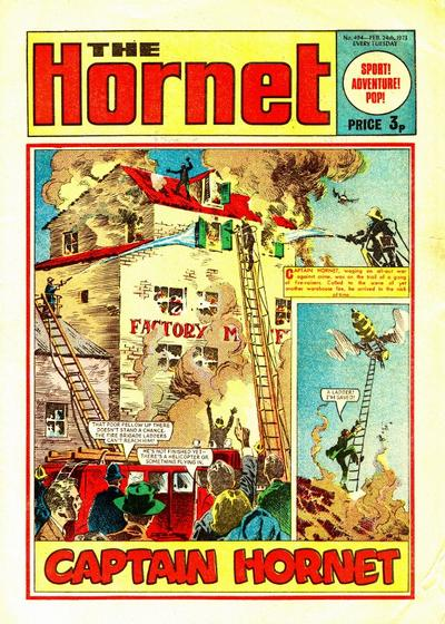 Cover for The Hornet (D.C. Thomson, 1963 series) #494