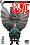 Cover for The Outsiders (DC, 2009 series) #19 [Lee Garbett / Trevor Scott Cover]