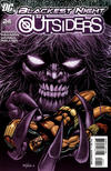 Cover for The Outsiders (DC, 2009 series) #24 [Second Printing]