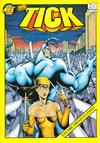 Cover for The Tick (New England Comics, 1988 series) #3 [Fourth Printing]