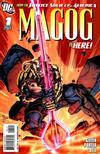 Cover for Magog (DC, 2009 series) #1 [Howard Porter / John Dell Cover]