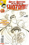 Cover for Billy Batson & the Magic of Shazam! (DC, 2008 series) #1 [Mike Kunkel Sketch Cover]