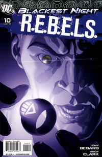 Cover Thumbnail for R.E.B.E.L.S. (DC, 2009 series) #10 [2nd Printing Variant]